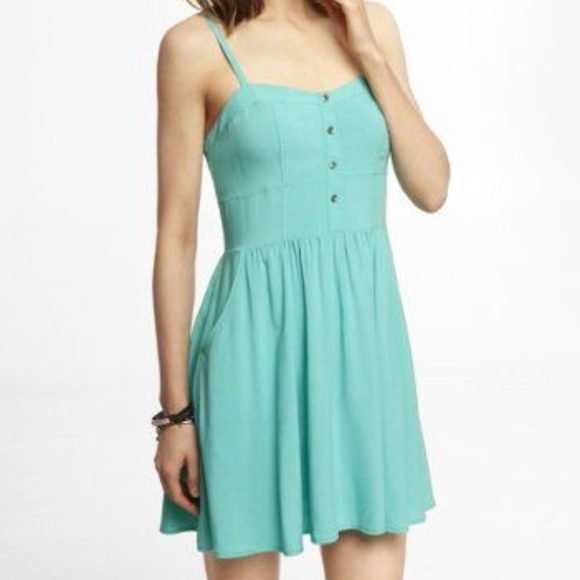 1d749234ad Express Dresses   Skirts - Express Sweetheart Cami Sundress